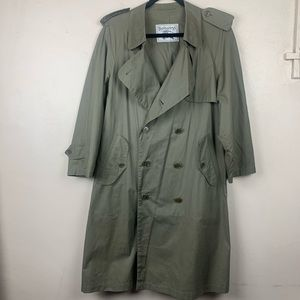Burberry Burberry's Vintage Trench Coat Green